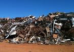 Imagem de um depósito  de vários tipos de materiais recicláveis, tais como: ferro, plástico, alumínio, fios de cobre etc. <br /> Palavras-chave: Alumínio.Ferro. Plástico. Sucata