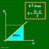 Os capacitores são dispositivos capazes de armazenar cargas elétricas e, consequentemente, energia potencial elétrica. Uma maneira de se determinar essa energia potencial é utilizar um método gráfico. Concluída a construção do gráfico, determina-se a área entre a reta do gráfico e o eixo da diferença de potencial.  <br /><br />  Palavras-chave: Eletrostática, energia, elétrica, condutor, cargas, potencial.