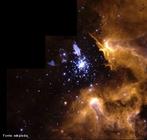 Imagem do ciclo de vida das estrelas. <br /><br />  Palavras-chave: Astronomia, movimento, gravitação universal, estrela, corpo celeste, via láctea, galáxia.