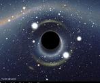 Um corpo celeste extremamente denso originado por gigantescas estrelas que colapsaram. Após a morte da estrela o núcleo se comprime e devido a sua força de gravidade nem a luz consegue escapar. <br /><br />  Palavras-chave: Astronomia, campo gravitacional, luz, matéria, velocidade, estrela, fusão nuclear, gravitação universal.