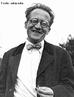 """(1887-1961). Contribuiu para o desenvolvimento da Mecânica Quântica, especialmente na teoria ondulatória pela Equação de Schrödinger. Autor do experimento conceitual """"o Gato de Schrödinger"""". Recebeu o prêmio Nobel de Física em 1933. <br /><br />  Palavras-chave: Mecânica quântica, equação de Schrödinger, experimento, gato de Schrödinger."""