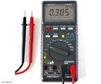 Destinado a medir e avaliar grandezas elétricas, um Multímetro ou Multiteste (Multimeter ou DMM - digital multi meter em inglês) é um instrumento que pode ter mostrador analógico (de ponteiro) ou digital. <br /><br /> Palavras-chave: Eletricidade, eletromagnetismo, multímetro, medida, eletrônica, voltagem, corrente elétrica, resistência, volts.
