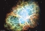 Nebulosa do Caranguejo (também conhecida por Nebulosa da Rolha, Nebulosa da Borboleta) (catalogado por NGC 1952, M1 - Messier 1, Taurus A) é um remanescente de supernova na constelação de Taurus. <br /><br /> Palavras-chave: Astronomia, nebulosa do caranguejo, hubble, chandra, estrela de nêutrons, gravitação universal.