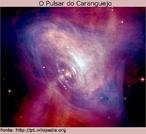 Esta imagem combina informações ópticas do Hubble (em vermelho) e imagens de raios-X do Observatório de raios-X Chandra (em azul). <br /><br /> Palavras-chave: Astronomia, Nebulosa do caranguejo, hubble, chandra, estrela de nêutrons, gravitação universal.