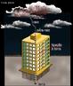 Quando uma nuvem eletrizada passa perto do pára-raio, por indução aparece nele uma carga elétrica de sinal oposto ao da nuvem. Então a carga da nuvem é atraída, dá-se o raio entre a nuvem e o pára-raio, e assim a carga da nuvem é escoada para a terra. <br /><br /> Palavras-chave: Eletromagnetismo, cargas positivas, cargas negativas, raio, indução, Benjamin Franklin, terra.