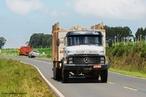 Veículo automóvel destinado ao transporte de cargas pesadas. <br /><br /> Palavras-chave: Velocidade, aceleração, atrito, momentum, movimento, inércia.